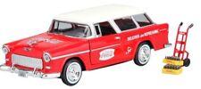 MCITY424110 - Voiture COCA-COLA avec caisson et diable - Chevrolet NOMAD de 1955