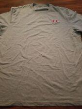 Under Armour Heat Gear Shirt Mens Size Xlarge Gray
