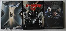 X-MEN #1, 1.5 & 2 DVD Hugh Jackman, Bryan Singer