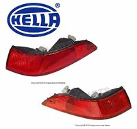 Set of 2 Taillight Lens Left Right Rear Oem Hella For Porsche 993 911 1995-1998