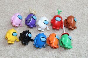10pcs/lot Among US Toy Game Series Action Figures Space Alien Set Building Block