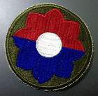Vietnam Era US Army 9th Infantry Division Cut Edge Patch 1966~1975