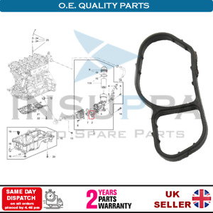 Oil Cooler Gasket Seal For Buick Encore Chevrolet Aveo Cruze Sonic Trax 55568539