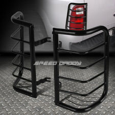 FOR 00-04 X-TERRA WD22 BLACK STAINLESS STEEL TAIL/BRAKE LIGHT/LAMP CAGE GUARD