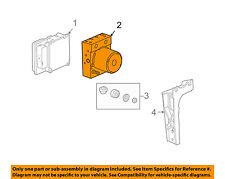 general motors genuine oem abs system parts for chevrolet corvette rh ebay com GM Charging System Diagram GM Hydroboost Diagram