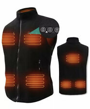 ARRIS Heated Vest for Men, 7.4V Electric Size Adjustable, Heating Vest