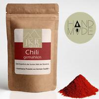 250g Chilipulver Chili gemahlen Chilli scharf JKR Spices