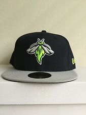 MiLB Columbus Fireflies Fitted Cap Hat New Era Cap NWT Size 7 1/2 Rare Mint 🔥🔥
