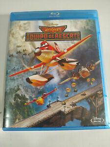Aviones Equipo de Rescate Disney Animacion - Blu-Ray Español Ingles - 3T