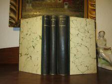 NOVALIS+WERKE Bibliophile LUXUSAUSGABE 3 Bände Schöner Leder HANDEINBAND Unikat