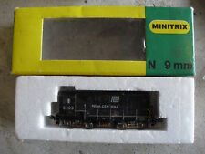 Vintage N Scale Minitrix Penn Central 8303 Locomotive in Box 2003