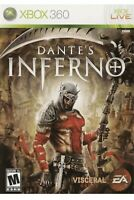 Dante's Inferno Xbox 360/One/X Game 1 Complete