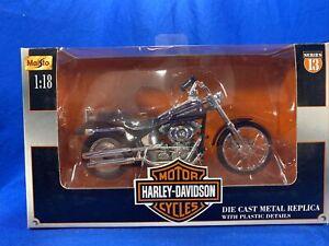 Maisto Harley Davidson Series 13 2002 FXSTD Deuce 1:18 New In Box