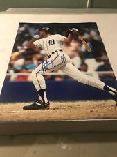 Alan Trammell Signed Detroit Tigers 11x14 Photo