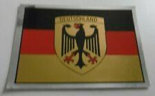 Souvenir-Aufkleber Deutschland Wappen Adler Flagge schwarz rot gold 70s Oldtimer