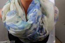 Écharpes et châles foulard à motif Floral polyester pour femme