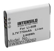 Akku für Pentax Optio i10, RZ10, RZ18, WG-1, WG-1 GPS 770mAh 3,7V Li-Ion
