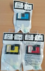 Genuine Brother LC980 M/Y/C Magenta , Yellow & Cyan Ink Cartridges Brand New X 3