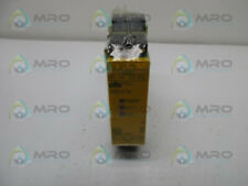 PILZ PNOZE3.1P24VDC2NSO SAFETY RELAY MONITOR 24VDC * NEW IN ORIGINAL PACKAGE *