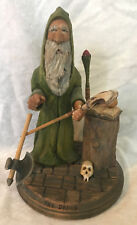 The Druid Artist Signed 2005 Detailed Wood Carving