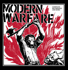 Modern Warfare-Complete Recordings And More LP early '80s So-CA HC Punk!