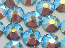 12ss BLACK DIAMOND AB HOTFIX swarovski  rhinestones 1gr