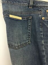 Roberto Cavali Blue Straight Jeans Italy Size L 100% Authentic