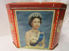 The Opening of the St. Lawrence Seaway..H.M. Queen Elizabeth II - 1959 Tin Can