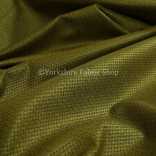 10 Metres Of Soft Cosy Chenille Texture Velvet Interior Upholstery Fabric Green