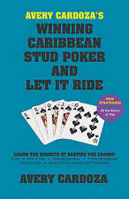 Avery Cardoza's Caribbean Stud Poker and Let it Ride, Very Good, Cardoza, Avery
