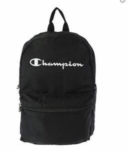 CHAMPION logo Mercury backpack - Black