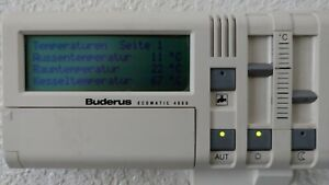 Buderus Ecomatic 4000 HS 4201 MEC Fernbedienung FMec