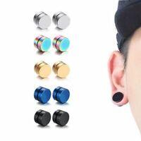 Magnet Earrings for Men Non-Piercing Strong Ear Stud Aretes De Iman Para Hombre