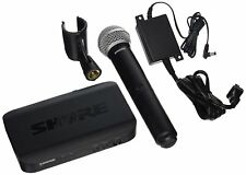 Shure BLX24/PG58-H9 Wireless Vocal System with PG58 Handheld Microphone, H9