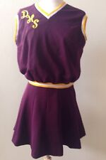 Vintage Cheerleader Costume Uniform Outfit Halloween Costume Sz S