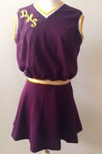 Vintage Cheerleader Costume Uniform Outfit Halloween Costume Sz S