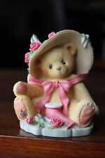 Cherished Teddies Janet You're Sweet As A Rose Figurine #336521 1997 no box
