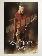 """THE WARRIOR'S WAY """"B"""" 11x17 PROMO MOVIE POSTER"""