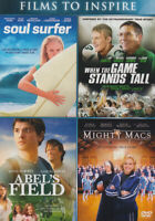 Soul Surfer / When the Game Stands Tall / Abel New DVD
