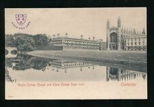 Cambridge Embossed Collectable English Postcards