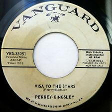 PERREY–KINGSLEY 45 Visit to the Stars/Spooks in Space VANGUARD moog PROMO ct2433