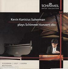 KEVIN KANISIUS SUHERMAN Plays Schimmel Konzert 280 CD - New