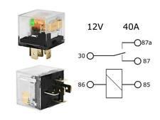 KFZ Relais 12V 30A/40A SPDT Wechselrelais mit LED Diode.