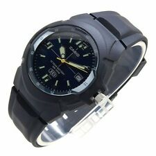 Casio Men's Watch Mw600f-2a 10 Year Battery 100m Black Resin Analog Quartz