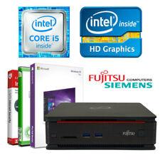 Fujitsu Mini PC Q920 Intel i5 4690T 4x3.50GHz 16GB RAM 512GB SSD Win 10 Computer