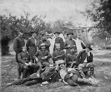 Lord Abinger Scots Fusilier Guards 1863 Falmouth Va 8x10 US Civil War Photo