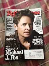 Rolling Stone Magazine Sept 26 2013 Michael J. Fox