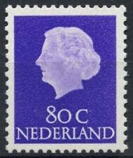 Netherlands 1953-71 SG#786a, 80c Queen Juliana MNH #A93131