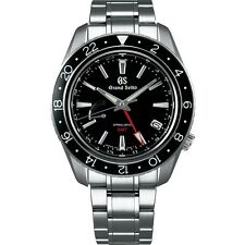 New Grand Seiko Spring Drive GMT Men's Stainless Steel Watch SBGE201
