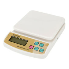 10Kg x 1g Digital Kitchen Scale Diet Food Bake CookingCompact Kitchen Scale 22lb
